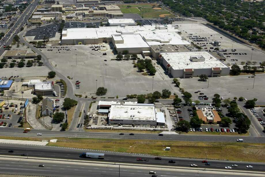A 2011 aerial of Rackspace Hosting Inc.'s headquarters in the former Windsor Park Mall in Windcrest. The company is trimming its workforce, according to two people familiar with layoffs.Click ahead to view Bexar County businesses with the most layoffs in 2016. Photo: San Antonio Express-News /File Photo / 2011 SAN ANTONIO EXPRESS-NEWS