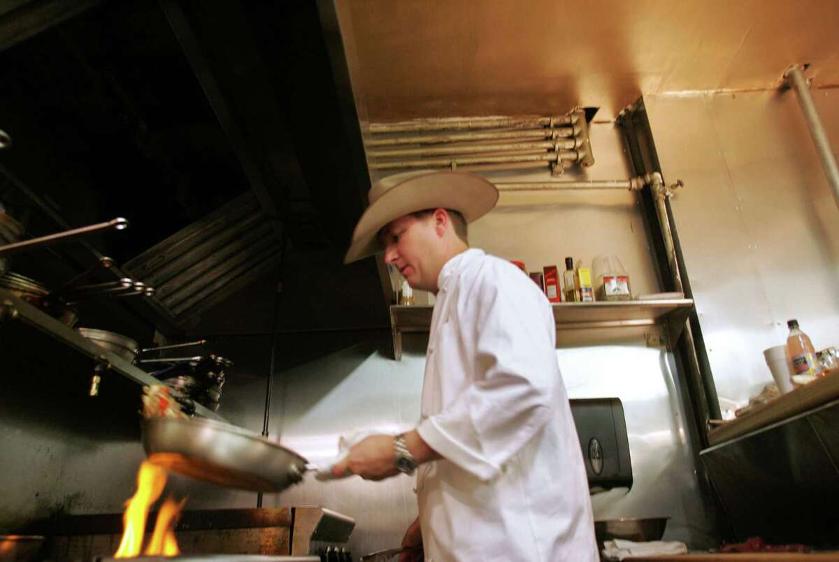Chef Tim Love of Lonesome Dove Western Bistro. Love will open a new restaurant, Woodshed, in Levy Park, Houston.