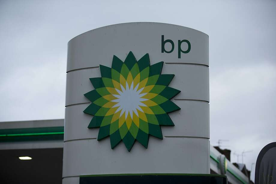 In this Tuesday, Feb. 2, 2016 file photo, the logo of the BP is seen outside its petrol station in East Molesey, southwest London.  NEXT: See recent earnings statements from energy companies of interest to the Houston area.  Photo: Matt Dunham, Associated Press