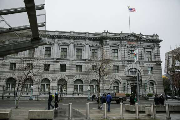The Ninth Circuit Court of Appeals building is seen on 7th Street and  will be hearing the travel ban case this afternoon, in San Francisco, California, on Tuesday, Feb. 7, 2017.