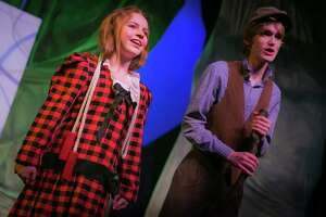 "Ashley Doyle and Karol Cooley star in ""Secret Garden"" at The Playhouse San Antonio."