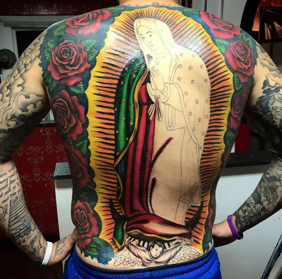 S.A. man\'s giant Virgen de Guadalupe tattoo took months, over $4,000 ...
