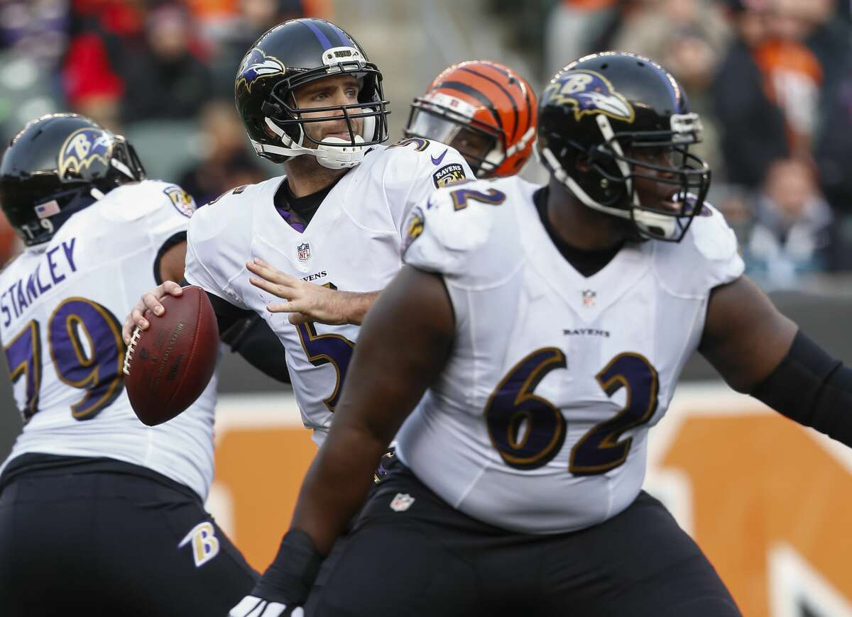 Baltimore Ravens 2016 record: 8-8 (2nd place, AFC North) Can the offense get back on track? Baltimore's young defense exceeded all expectations in 2016, ranking in the top 10 in both yards and points allowed, but the offense seemed stuck in neutral for most of the season. After replacing Marc Trestman and being named the team's fifth offensive coordinator in as many seasons during the season last year, former Lions head coach Marty Mornhinweg did seem to get the unit going through the final third of the campaign, which is why he was retained for 2017. Job one will be improving a rushing attack that ranked near the bottom of the league so quarterback Joe Flacco (above) doesn't have to carry the team by himself.