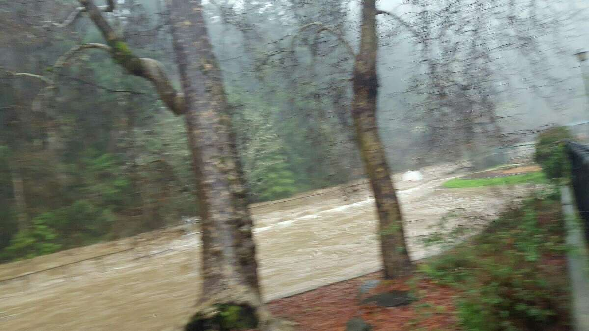 Ben Lomond, near Santa Cruz 30-year average rainfall total Jan. 1-Feb. 8: 12.54 inches