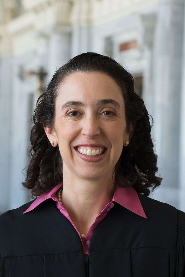 Judge Michelle Friedland, of the Ninth Circuit U.S. Court of Appeals in San Francisco. is one of the three federal judges to hear arguments on Tuesday, Feb. 7, 2017, in the challenge to President Trump's travel ban. Photo: -, AFP/Getty Images
