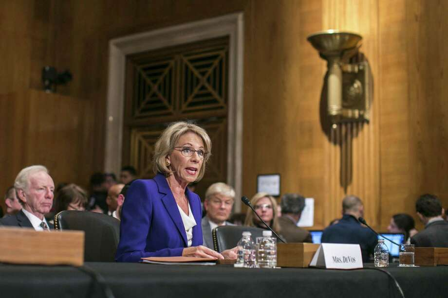 Alexander Oversees Tight Vote To Advance DeVos As Education Secretary