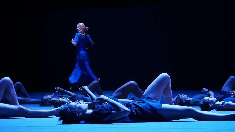 "The Batsheva Dance Company performs ""Last Work,"" a collection of disparate numbers. Photo: Gadi Dagon"
