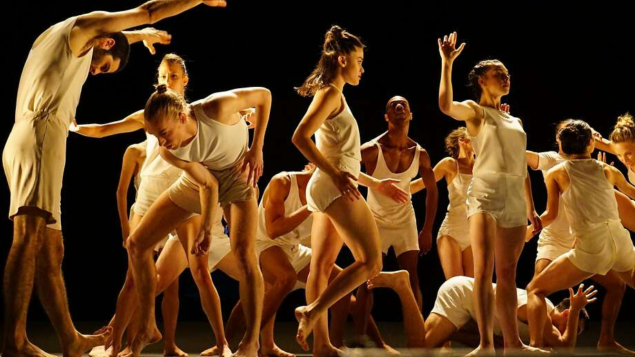 "The Israeli group Batsheva Dance Company, led by director/choreographer Ohad Naharin performs Naharin's ""Last Work."" Photo: Gadi Dagon"