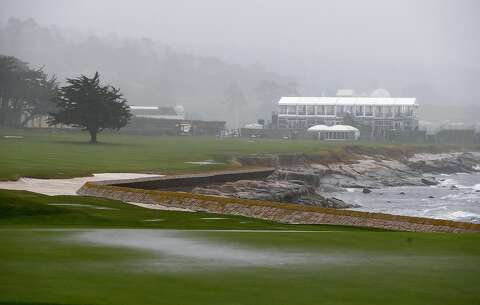 Nasty weather lashes Pebble Beach ahead of AT&T - SFGate