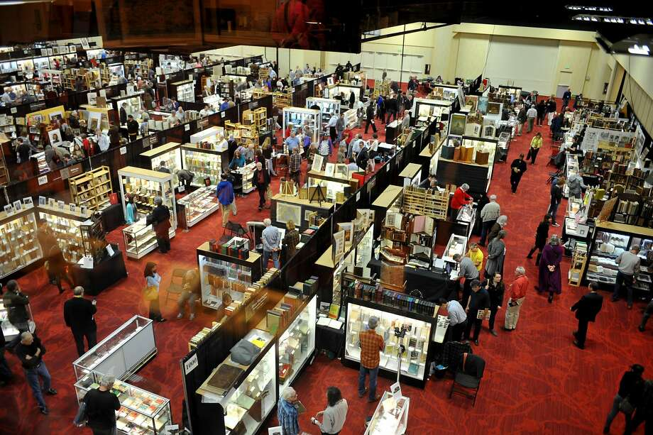 The California International Antiquarian Book Fair will celebrate its 50th anniversary this weekend in Oakland. Photo: California International Antiquarian Book Fair