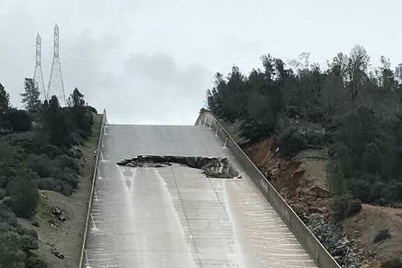 State water managers stopped releasing water from Lake Oroville on Tuesday because of damage to the spillway. Officials say there's enough space in the reservoir to store runoff until the problem is investigated and fixed.