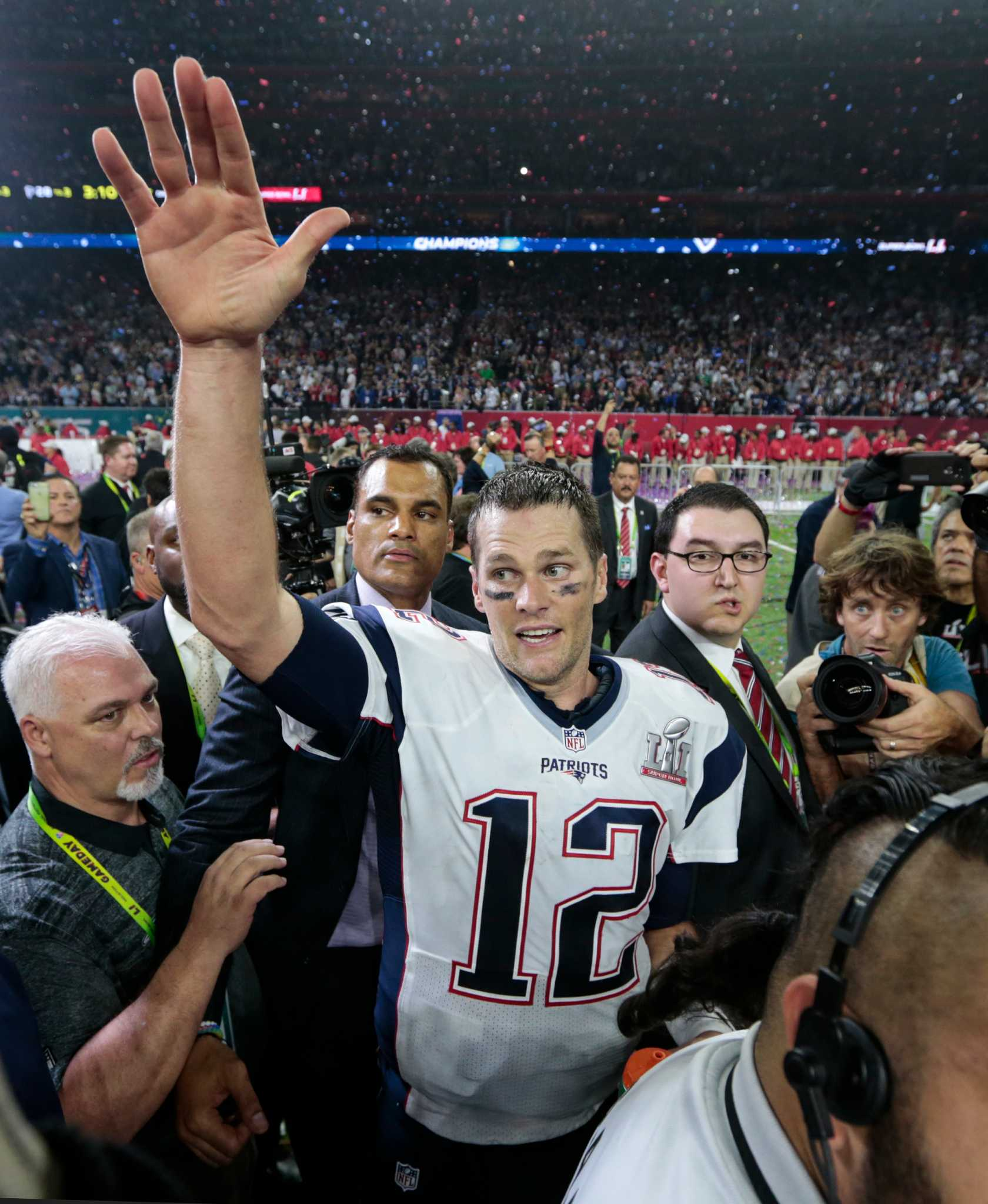 Tom Brady s Super Bowl jersey has been found after FBI help ... 331513f5a
