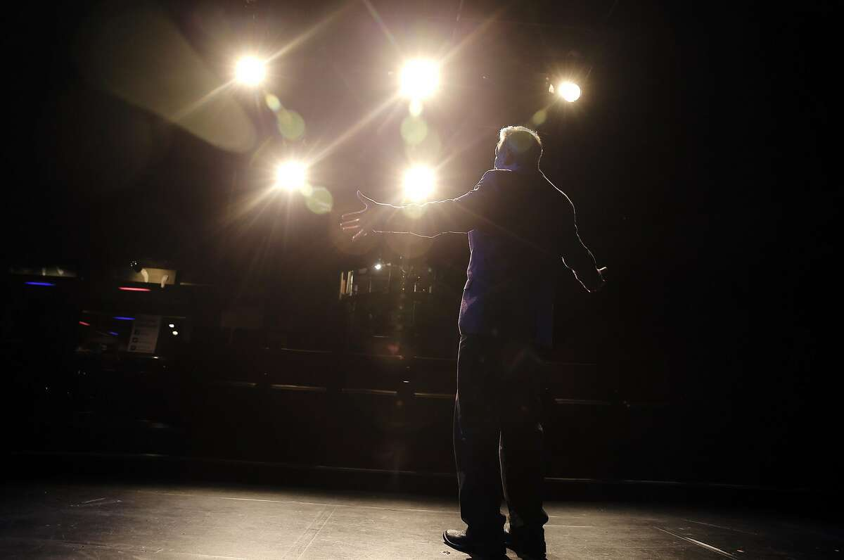 Former San Francisco Supervisor and State Assemblyman Tom Ammiano on stage at the Marsh Theater in San Francisco, Calif., on Tuesday, February 7, 2017.
