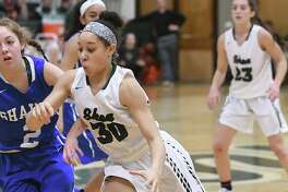 Shenendehowa's Simone Walker drives to the hoop during a basketball game against Shaker at Shenendehowa High School on Tuesday, Feb. 7, 2017 in Clifton Park, N.Y. (Lori Van Buren / Times Union)