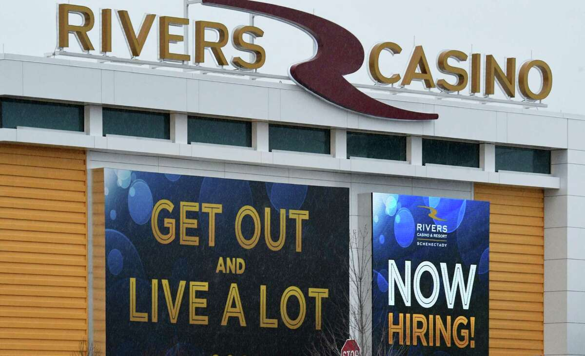 Rivers Casino all ready for Grand Opening Tuesday Feb. 8, 2017 in Schenectady, NY. (John Carl D'Annibale / Times Union)