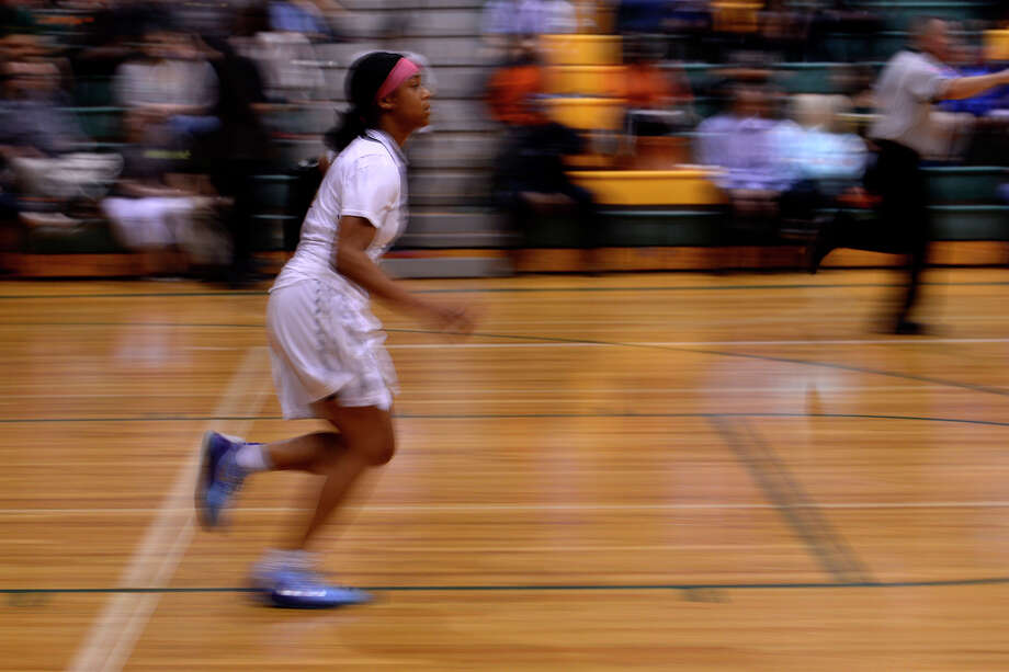 Legacy Christian Academy's Alexis Morris runs down the court during her final home game against Rosehill Christian on Tuesday evening. Morris, a McDonald's All-American, will play college basketball at Baylor.  Photo taken Tuesday 2/7/17 Ryan Pelham/The Enterprise Photo: Ryan Pelham / ©2017 The Beaumont Enterprise/Ryan Pelham