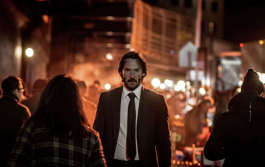 "Keanu Reeves reprises his role as a hit man in ""John Wick: Chapter 2."" Photo: Niko Tavernise, HONS / Lionsgate"