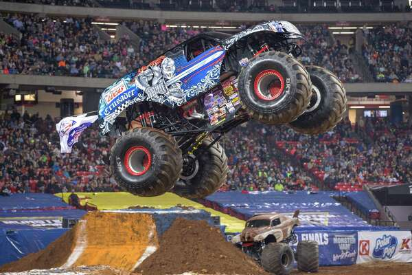 Monster trucks return to NRG Park this weekend when Monster Jam rolls into town.