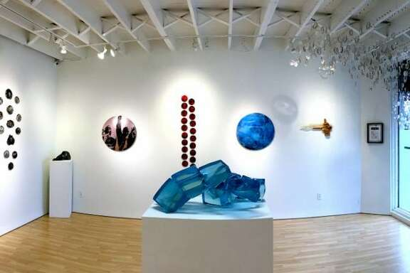 """A view of David Graeve's show """"Direct Action,"""" on view at Samara Gallery through Feb. 28."""