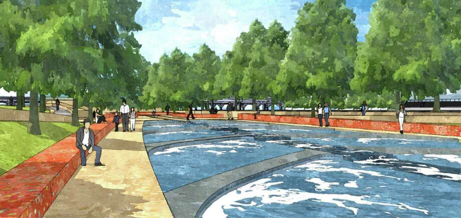 Recent renderings of the San Pedro Creek Improvement Project. Photo: Courtesy Photo / Courtesy Photo