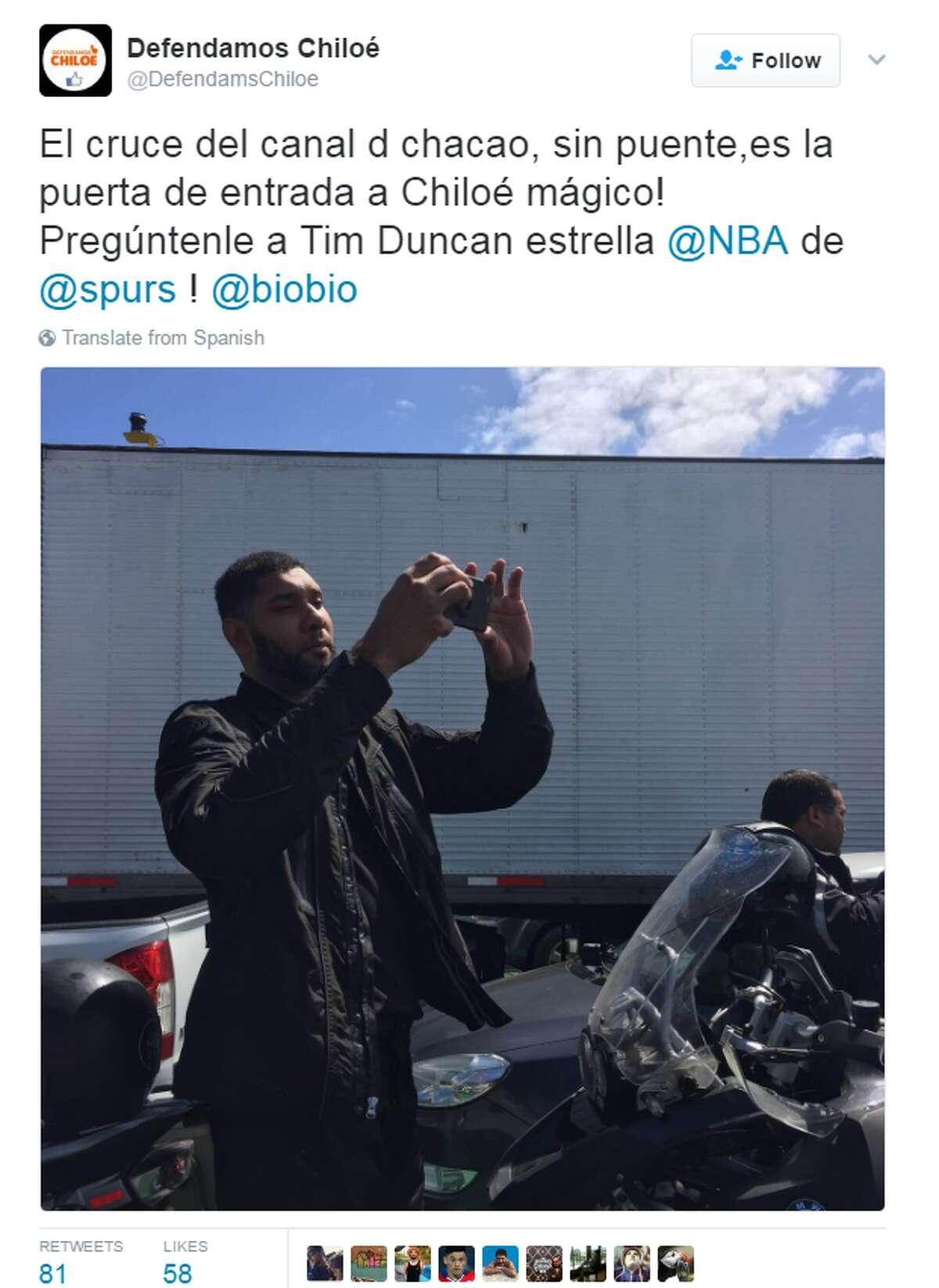 @DefendamsChiloe: El cruce del canal d chacao, sin puente,es la puerta de entrada a Chiloé mágico! Pregúntenle a Tim Duncan estrella @NBA de @spurs ! @biobio