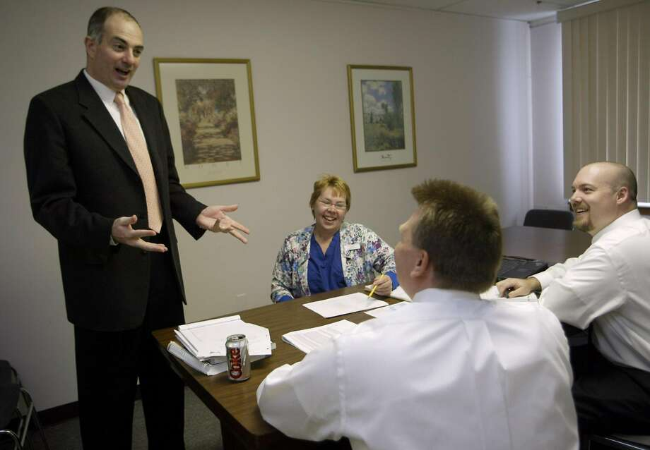 Andrei Soran, now chief executive of Verity Health, shown in an earlier job. Photo: Boston Globe, Boston Globe Via Getty Images
