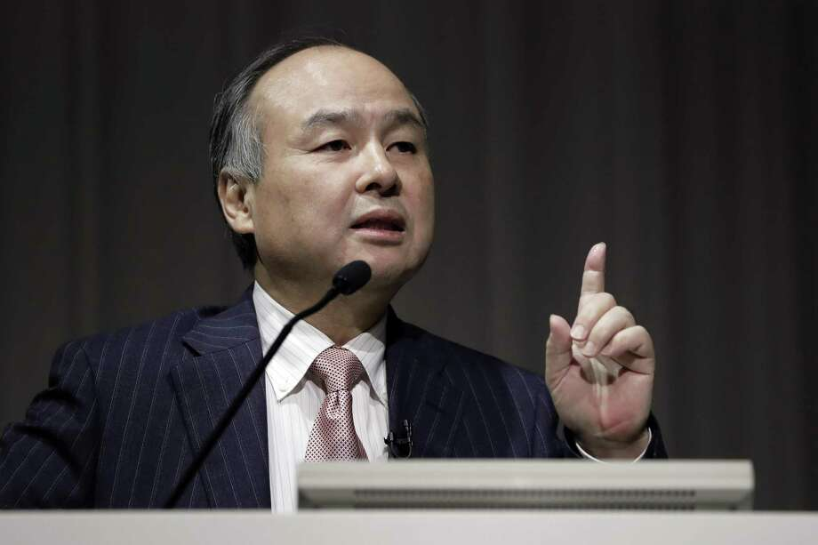 SoftBank Chief Executive Masayoshi Son held a highly publicized meeting with President Donald Trump in New York late last year and promised to invest $50 billion in U.S. startups to create 50,000 jobs. Photo: Kiyoshi Ota /Bloomberg News / © 2017 Bloomberg Finance LP