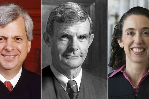 "(COMBO) This combination of recent pictures created on February 07, 2017 shows (From L to R) Judge Richard Clifton, Judge William Canby and judge Michelle Friedland from the Ninth Circuit Court of Appeals in San Francisco.  The Three federal judges heard arguments on Tuesday in the challenge to Donald Trump's travel ban. ""It si likely that they don't hand down their decision the same day"" a court official said.  / AFP PHOTO / U.S. Courts for the Ninth Circuit / - / RESTRICTED TO EDITORIAL USE - MANDATORY CREDIT ""AFP PHOTO / U.S. Courts for the Ninth Circuit "" - NO MARKETING - NO ADVERTISING CAMPAIGNS - DISTRIBUTED AS A SERVICE TO CLIENTS  -/AFP/Getty Images"
