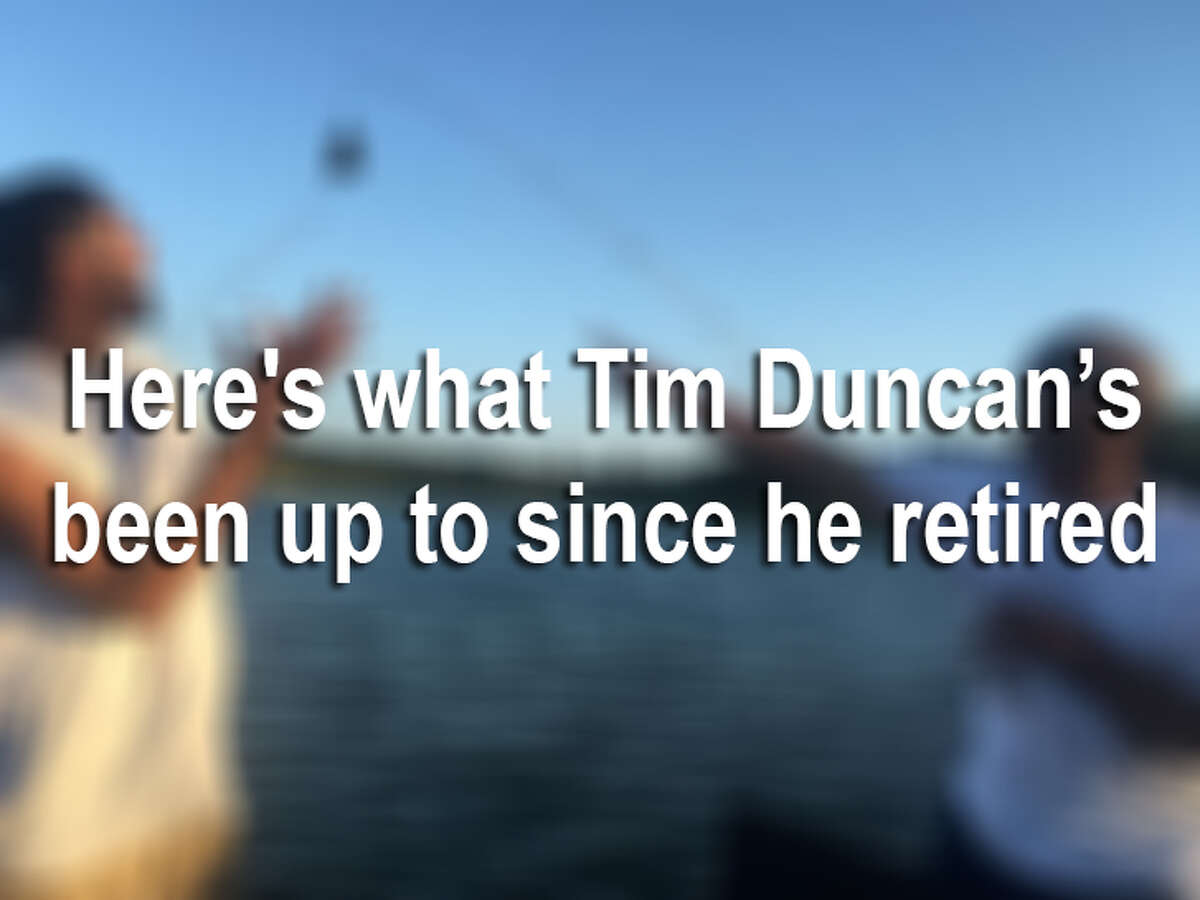 From fishing to attending Maroon 5 concerts, Tim Duncan has been spotted living the good, retired life around San Antonio.Here's what The Big Fundamental has been up to since he retired last summer.