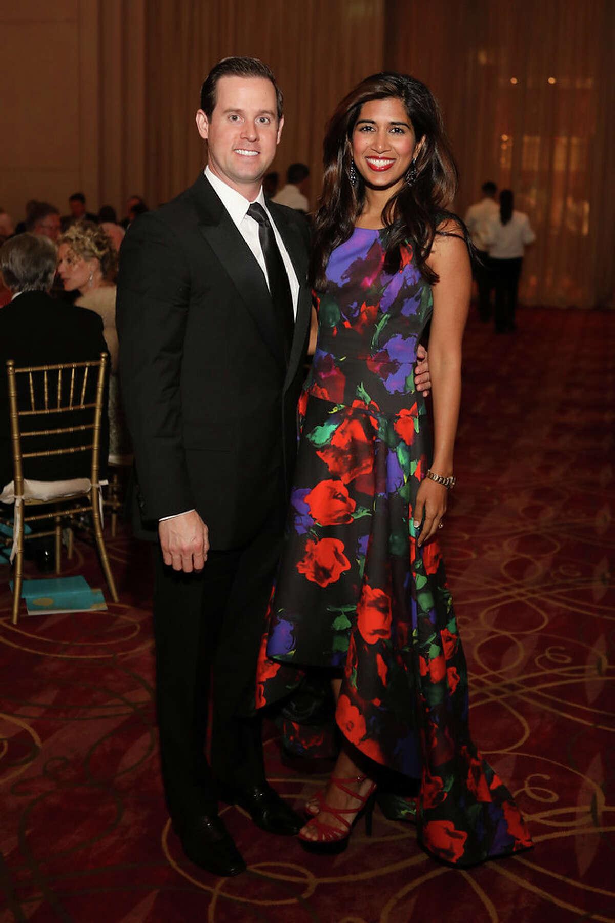 Chris and Divya Brown