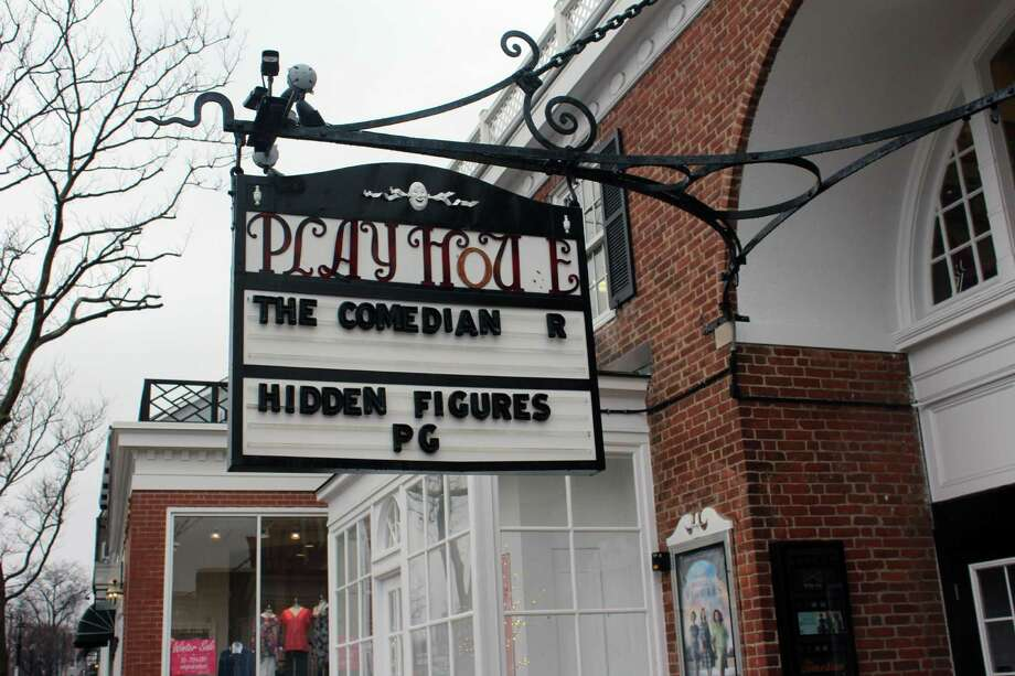 The Playhouse Theater on Elm Street in New Canaan. Photo: Justin Papp / Hearst Connecticut Media / New Canaan News