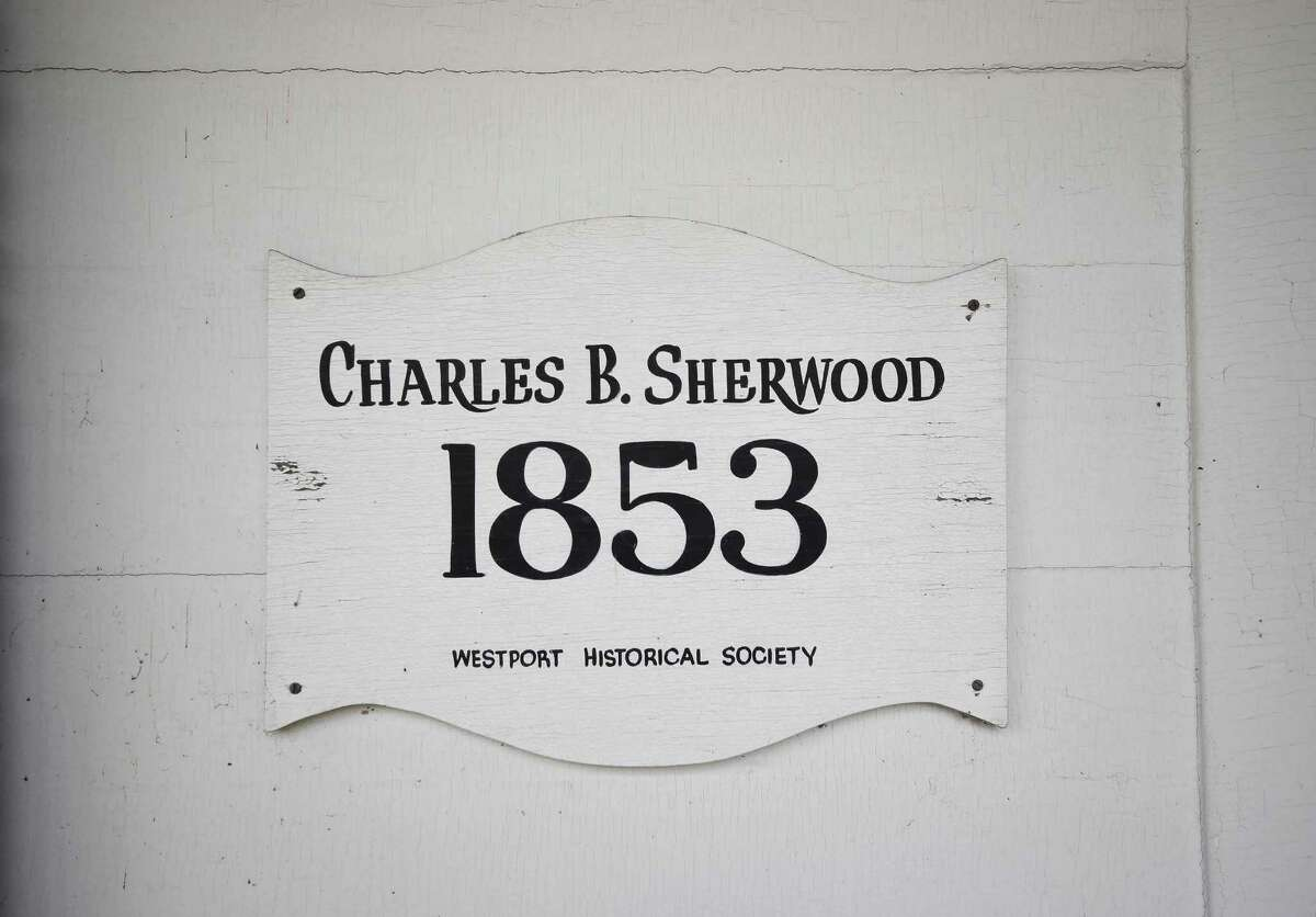 """The Charles B. Sherwood House was built in 1853 and ?""""clearly merits preservation,?"""" according to a representative of the Connecticut Trust for Historic Preservation."""