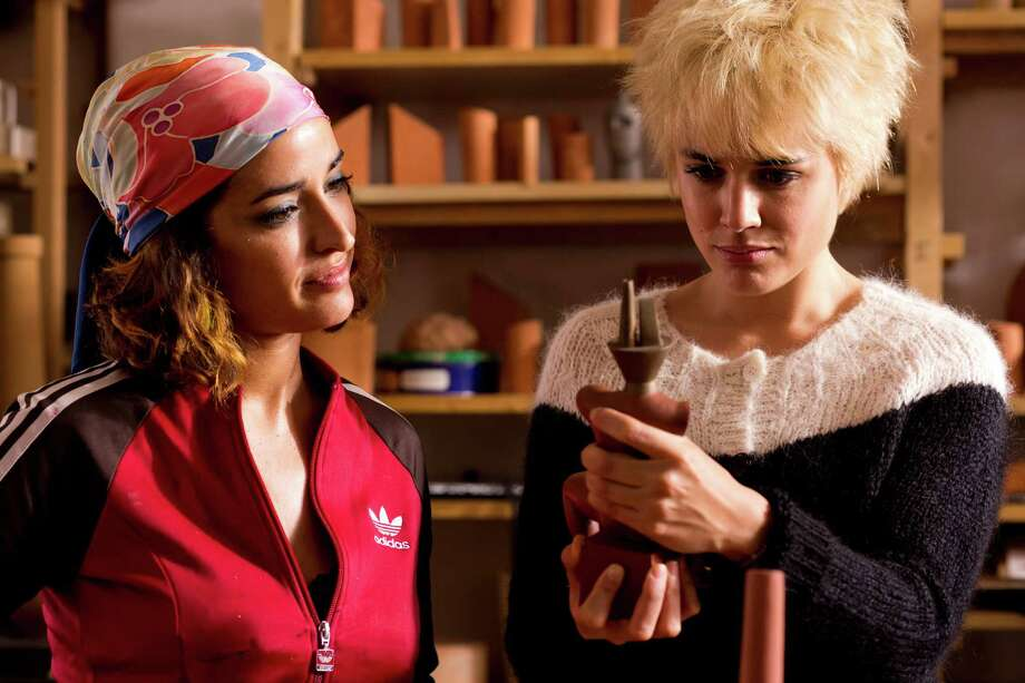 """Photo by Manolo Pavon, Courtesy of Sony Pictures Classics Left to right: Inma Cuesta as Ava and Adriana Ugarte as Earlier Julieta in """"Julieta."""""""