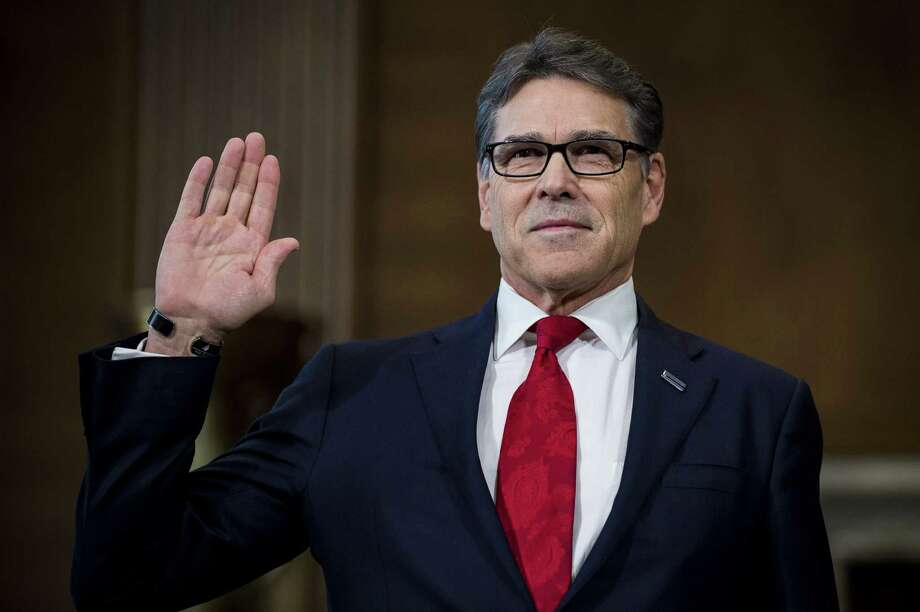 Former Gov. Rick Perry said he opposed all energy tax credits.  Photo: Pete Marovich / © 2017 Bloomberg Finance LP