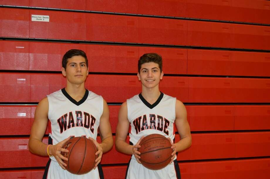 Fairfield Warde's Giacomo Brancato, left, and his brother, Antonio. Photo: Contributed / Contributed