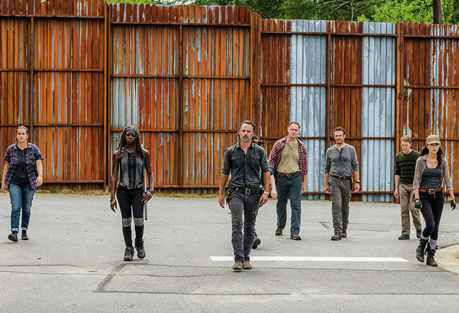 The Walking Dead's seventh season picks back up tonight. Click through the slideshow to see what each character is currently up to. (Warning: spoilers for the first half of season seven follow) / © 2016 AMC Film Holdings LLC. All Rights Reserved.