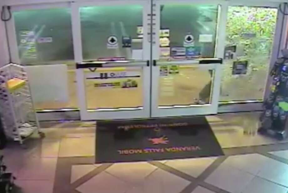 A screenshot from surveillance video shows the thieves unsuccessfully trying to break into a gas station.Click through this slideshow to read more about some of the weirdest Bay Area crimes of 2016. Photo: Port Saint Lucie Police Department