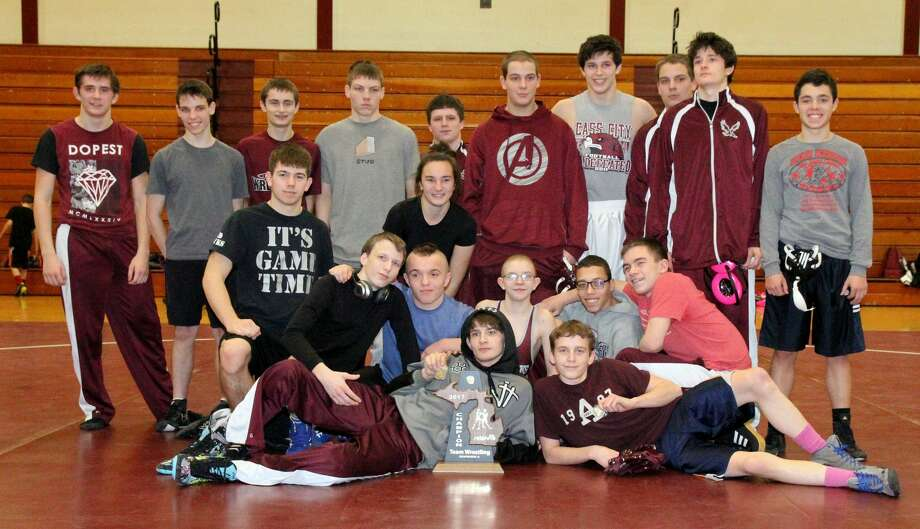 Team Wrestling Districts Photo: Paul P. Adams/Huron Daily Tribune
