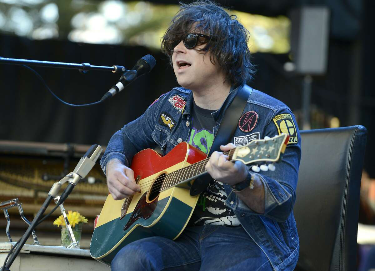 MOUNTAIN VIEW, CA - OCTOBER 25: Ryan Adams performs during the 29th Annual Bridge School Benefit at Shoreline Amphitheatre on October 25, 2015 in Mountain View, California. (Photo by Tim Mosenfelder/Getty Images)