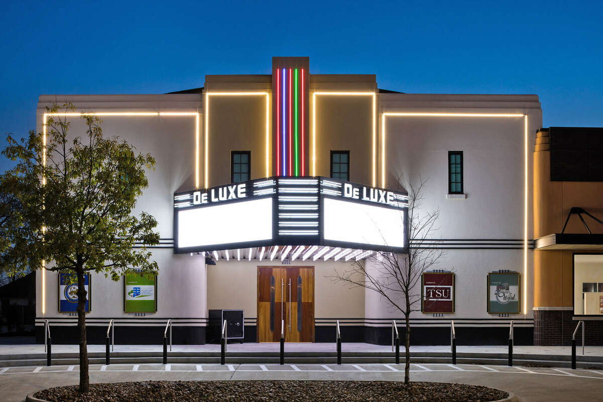 City of Houston and Fifth Ward Community Redevelopment Corp. will receive a Good Brick Award for the rehabilitation of the DeLuxe Theater (1941) in the Fifth Ward.