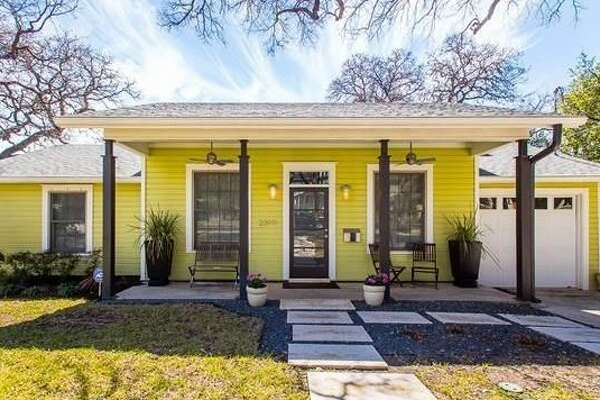 Major Applewhite's former Austin home is available for rent for $4,100 per month. The three-bedroom house, which is close to the University of Texas, has one bath and comes with a handsome backyard patio.