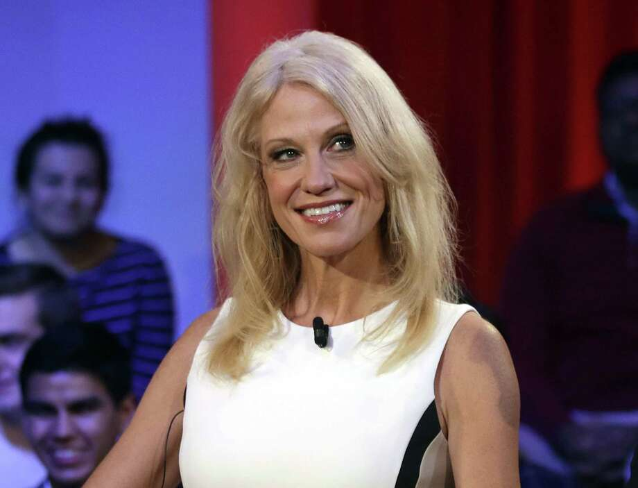 """""""It's a wonderful line. I own some of it,"""" White House counselor Kellyanne Conway said of Ivanka Trump's clothing line during an interview on Fox News Channel's Fox & Friends program. """"I'm going to give it a free commercial here. Go buy it today everybody; you can find it online."""" Photo: Charles Krupa /Associated Press / Copyright 2017 The Associated Press. All rights reserved."""