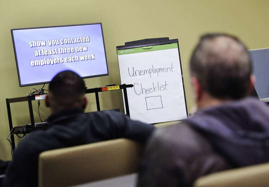 Claims for unemployment benefits rose by 5,000 last week to a seasonally adjusted 239,000, the Labor Department reported Thursday. Claims applications have been below the key threshold of 300,000 for 102 consecutive weeks, the longest stretch since 1970. Photo: Associated Press /File Photo / Copyright 2016 The Associated Press. All rights reserved. This material may not be published, broadcast, rewritten or redistribu