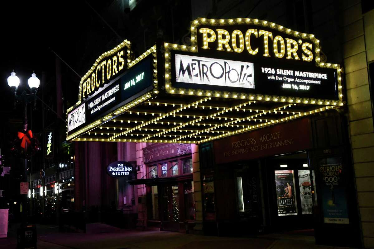 Proctors marquee on Thursday, Dec. 1, 2016, at Proctors in Schenectady, N.Y. (Cindy Schultz / Times Union)
