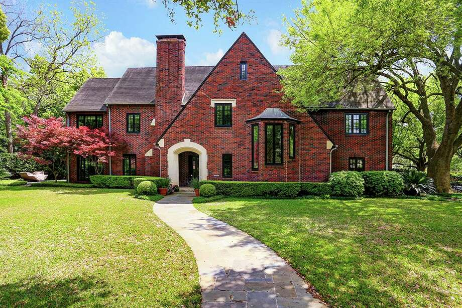 The home at  1659 North Blvd. was built in 1935 by renowned architect Hiram Salisbury. It's on the market now for $3.495 million.>>Click to see other Museum District homes designed by prominent architects. Photo: Houston Association Of Realtors
