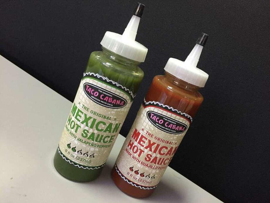Taco Cabana is now selling its hot sauces at H-E-B locations. Photo: Taco Cabana, Edmund Tijerina / San Antonio Express-News