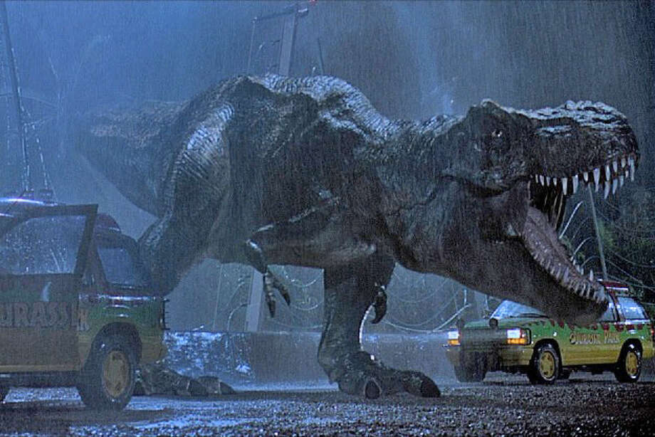 "John Williams' ""Jurassic Park"" score is getting the San Antonio Symphony treatment. The orchestra will play live while the film is screened. The 1993 movie is set at a dinosaur-themed tourist attraction where things go terribly awry during a preview in advance of its opening.Opens Friday. 8 p.m. Friday, 2 and 8 p.m. Saturday and 2 p.m. Sunday. Majestic Theatre, 224 E. Houston St. $14-$67 at the box office and ticketmaster.com. Info: sasymphony.org.-- Deborah Martin Photo: Universal, BE"