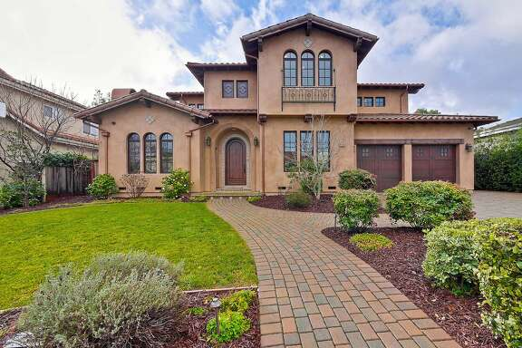 20874 Hanford Drive in Cupertino is a five-bedroom Spanish Mediterranean built in 2011 and listed at $3.498 million.�