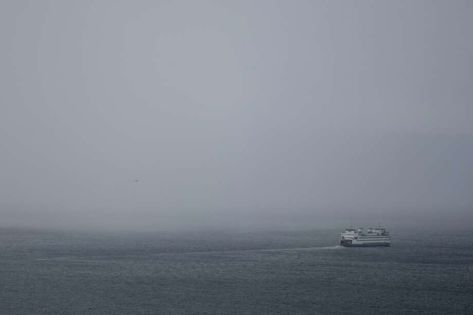 Seattle has had just nine days since October with 30 percent cloud cover or less. And the rain? Don't even get us started.Pictured: A ferry heads into a brief rainstorm on Thursday afternoon, Feb. 9, 2017. Photo: GRANT HINDSLEY, SEATTLEPI.COM / SEATTLEPI.COM