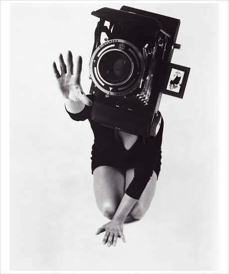 "Lynn Hershman Leeson, ""Reach,"" from the series ""Phantom Limb"" (1986). Photo: Lynn Hershman Leeson, Anglim Gilbert Gallery"